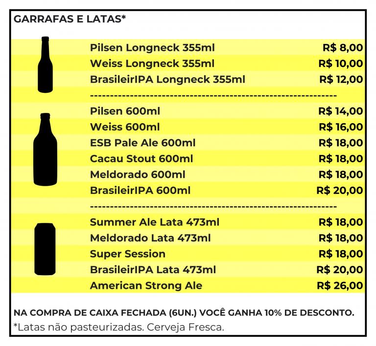 Peça já cervejas da Kalango Cervejaria!